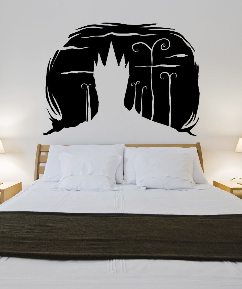 Vinyl Wall Decal Sticker Spooky House Design #OS_MB655
