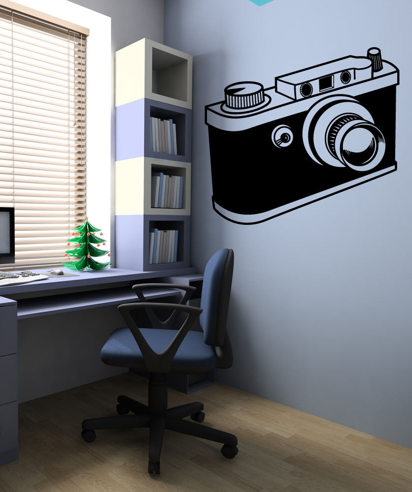 Vinyl Wall Decal Sticker Camera OS_MB419