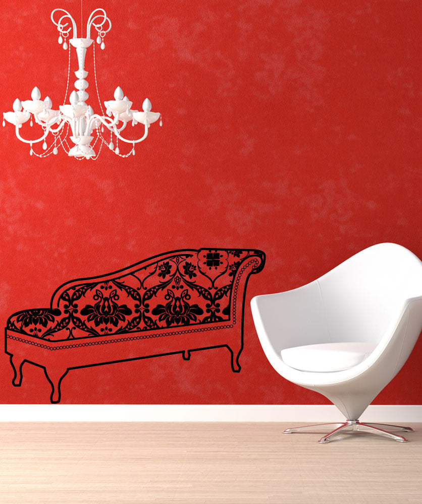 Vinyl Wall Decal Sticker Chaise Lounge #OS_MG355