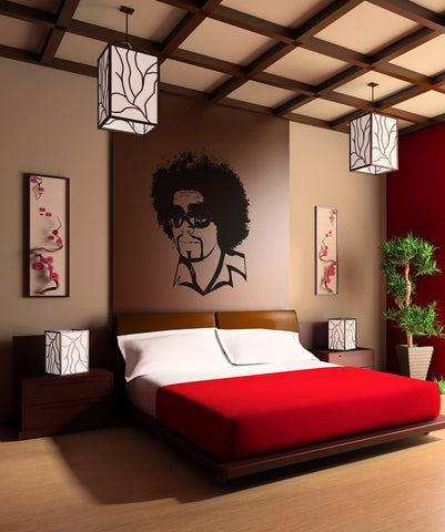 Vinyl Wall Decal Sticker 1970's Afro #OS_AA160