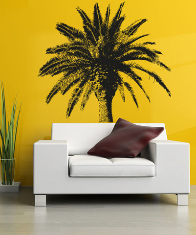 Vinyl Wall Decal Sticker Coconut Tree #OS_AA228