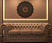 Vinyl Wall Decal Sticker Abstract Circle Design #OS_AA326