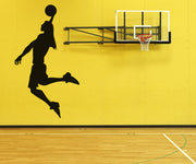 Vinyl Wall Decal Sticker Woman Basketball Player#OS_AA507