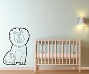 Vinyl Wall Decal Sticker Kids' Lion #OS_AA543