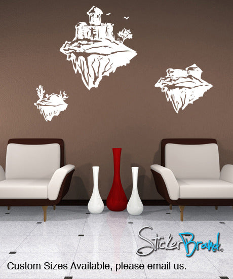 Vinyl Wall Decal Sticker Skyland #GFoster114