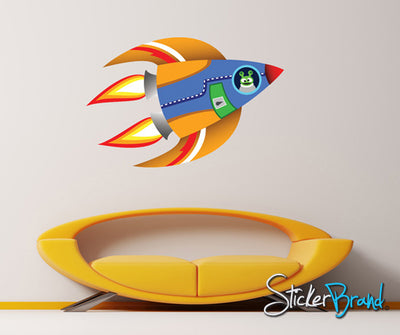 Graphic Wall Decal Sticker Alien Spaceship #KTudor113