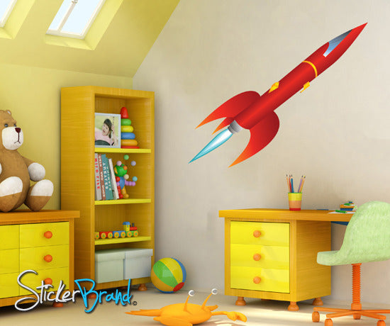 Graphic Wall Decal Sticker Alien Spaceship #KTudor115