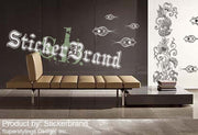 Vinyl Wall Decal Sticker Exotic Deep Sea Coral Reef #341