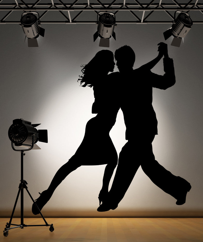 Vinyl Wall Decal Sticker Tango Couples #AC187