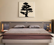 Vinyl Wall Decal Sticker Tiered Bonsai #AC225