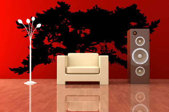 Vinyl Wall Decal Large African Tree #SIrwin105