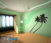 Vinyl Wall Decal Sticker Tropical Palm Trees #800