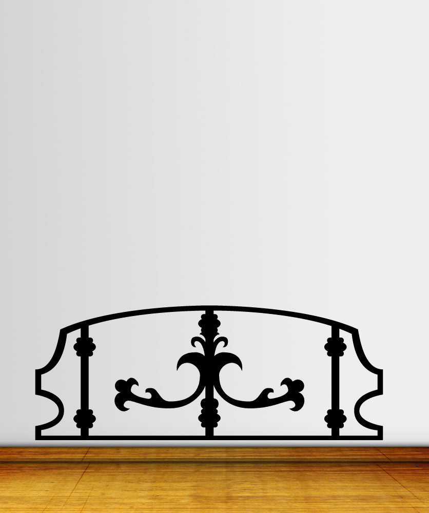 Vinyl Wall Decal Sticker Bed Frame #OS_MG181