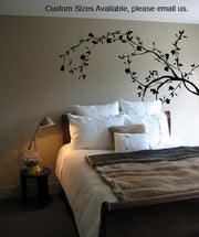 Vinyl Wall Decal Sticker Flower Leave Vines #AC158