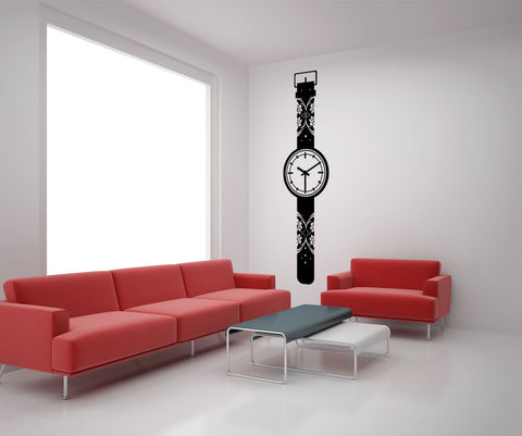 Vinyl Wall Decal Sticker Wall Watch #OS_MG171