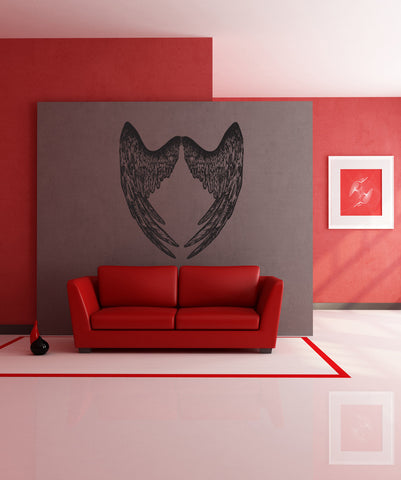 Vinyl Wall Decal Sticker Wings #869