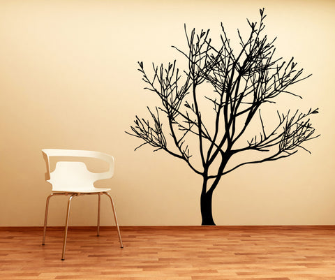 Vinyl Wall Decal Sticker Winter Tree #AC229
