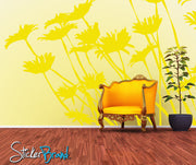 Daisies Wall Decal. Floral / Flower Home Decor. #AC113