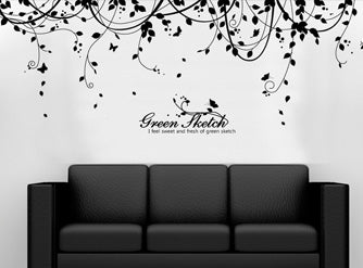 FAQ - Can i put a wall decal on canvas