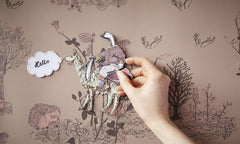 Magnetic Wallpaper | Sian Zeng from Just Kids Wallpaper