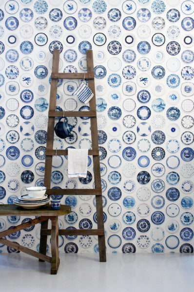 Studio Ditte Porcelain saucer wallpaper