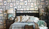 Picture Gallery Wallpaper by Sanderson