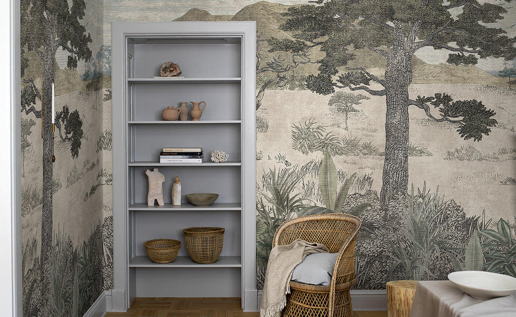 Serengeti Wallpaper Mural by Boras Tapeter Wallpaper