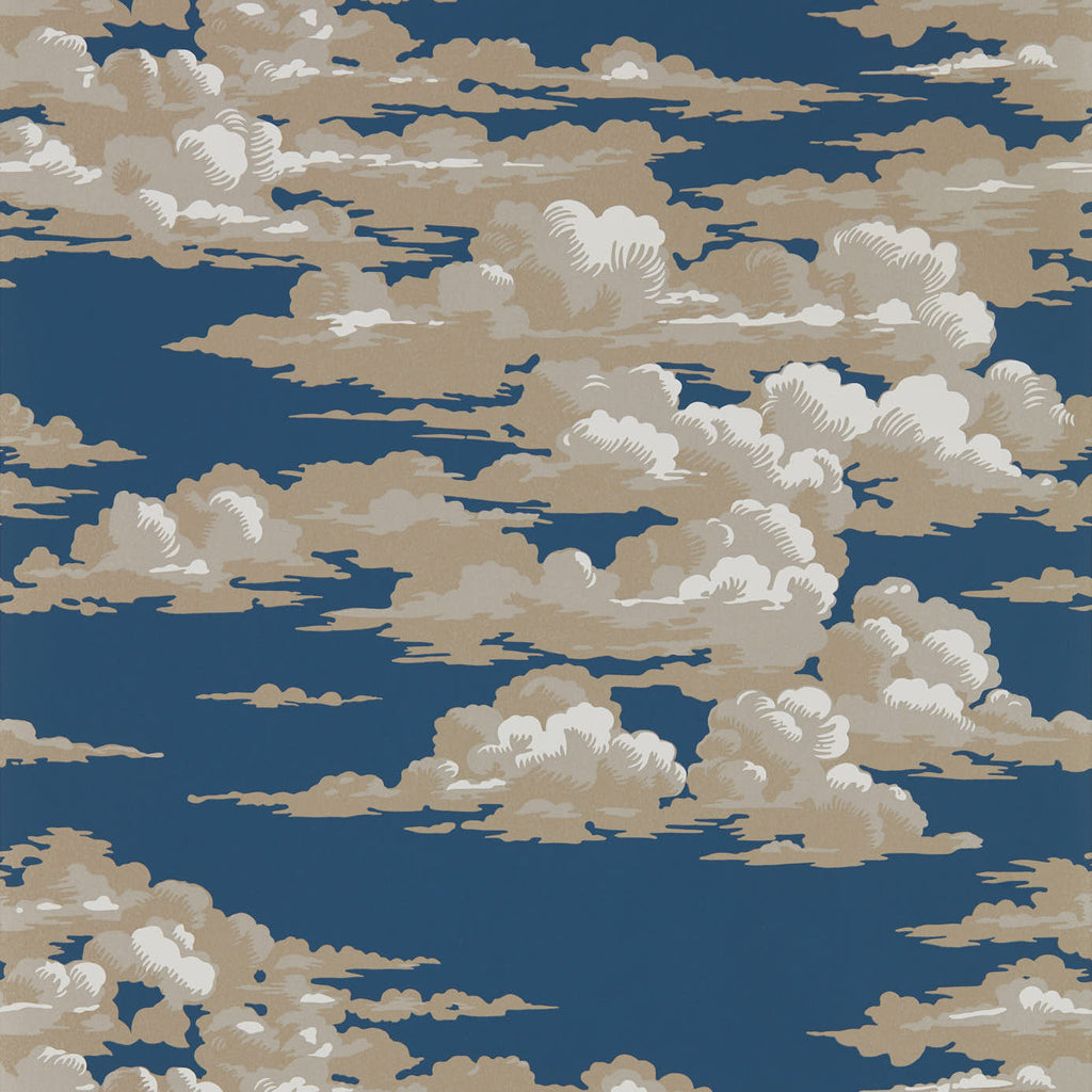 Silvi Clouds Wallpaper 216602 by Sanderson