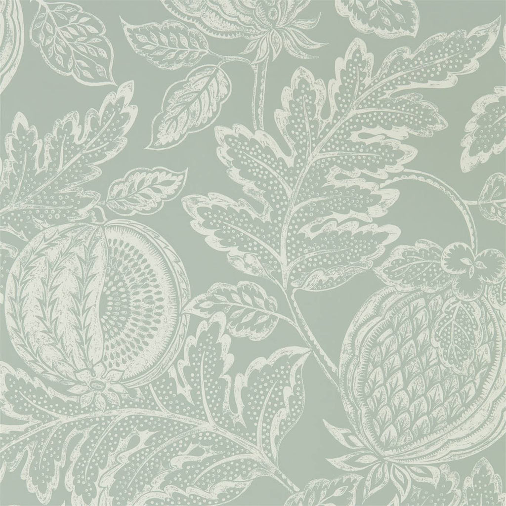 Sanderson Wallpaper Australia | Cantaloupe in English Blue