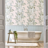 Calathea Wallpaper 216632. Sanderson Wallpaper