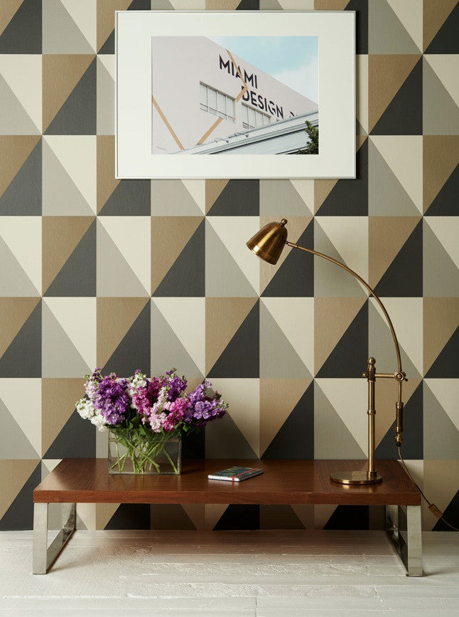 Apex Grand 105/10043 Cole & Son Wallpaper | Geometric 2 Room Shot