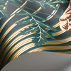 Gold Bluebell Wallpaper 115/3010 Cole & Son