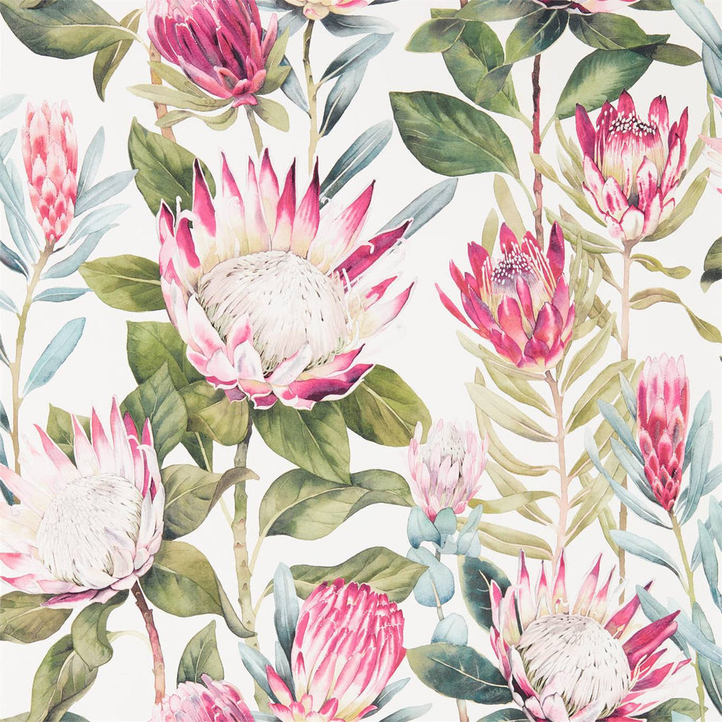 Sanderson King Protea Wallpaper 216646
