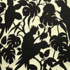 Florence Broadhurst Cockatoos Wallpaper in Matt Black