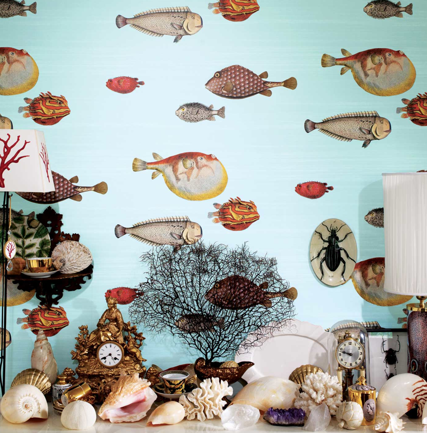 Cole & Son Acquario 97/10030 Wallpaper Australia
