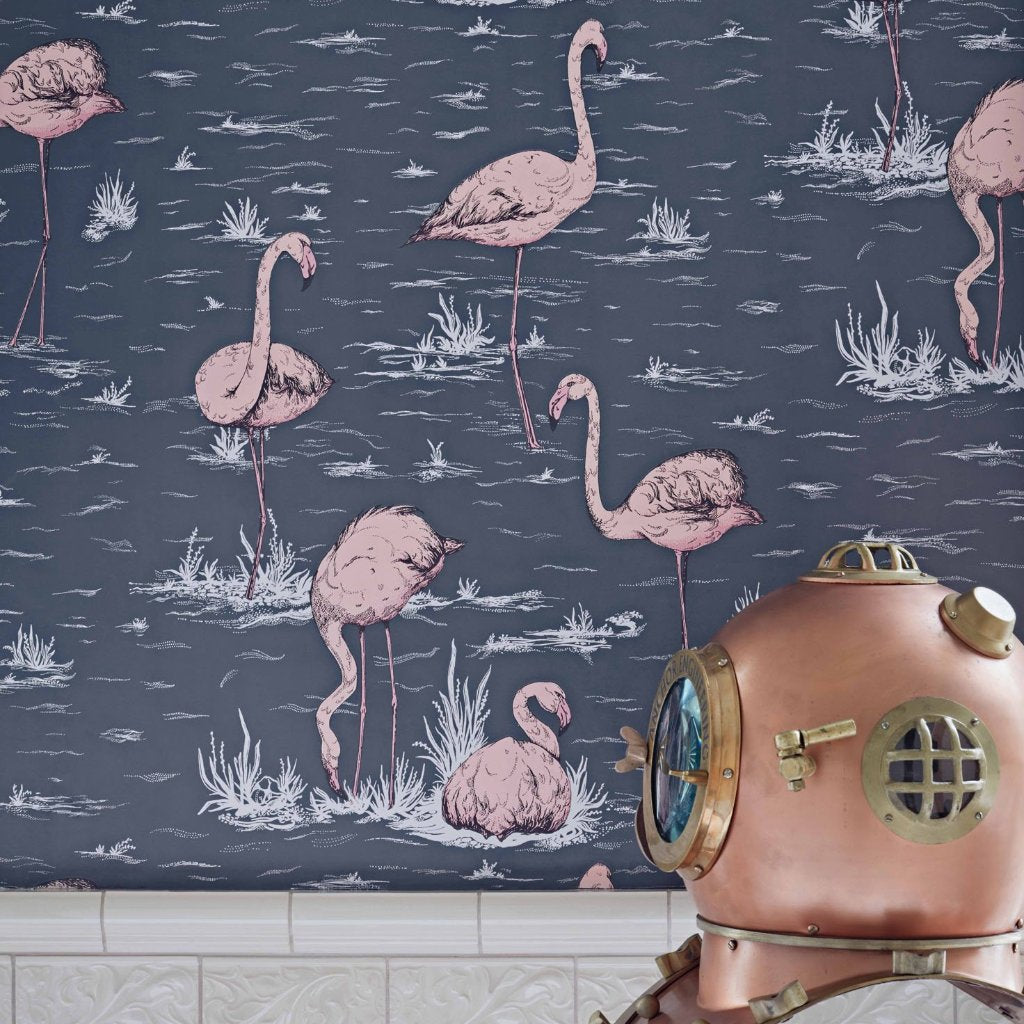 Flamingos Wallpaper by Cole & Son | Icons Collection