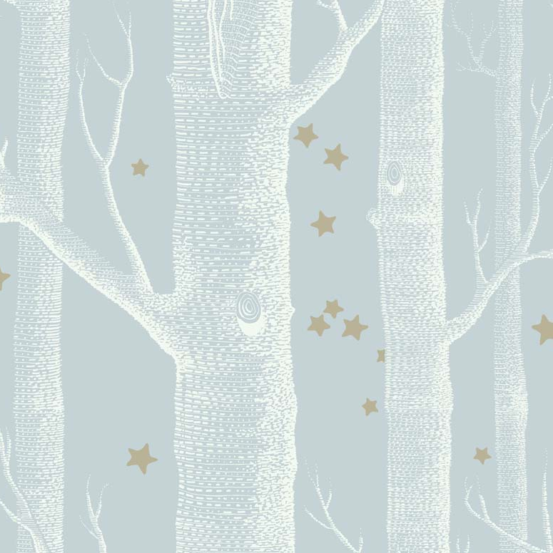 Cole & Son Wallpaper Woods & Stars 103/11051