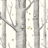 Cole & Son Wallpaper Woods & Stars 103/11050