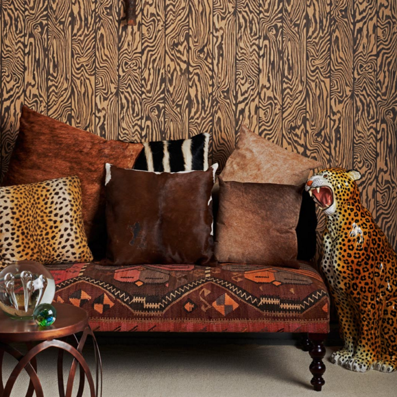 Zebrawood Wallpaper 107/1002 by Cole & Son Australia. Curio Collection