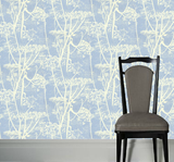 Cole & Son Wallpaper Australia |Cow parsley Wallpaper in a pale blue | 66/7050