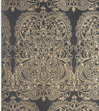 Cole & Son Wallpaper Australia | Alpana Wallpaper 69/2105 in Black & gold Retro 70's Wallpaper