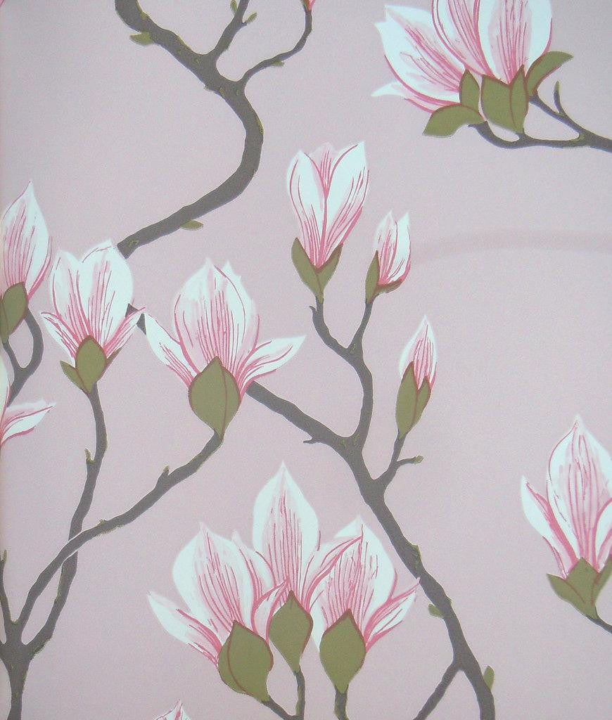 Cole & Son Magnolia Wallpaper 72/3009 from the Contemporary Collection