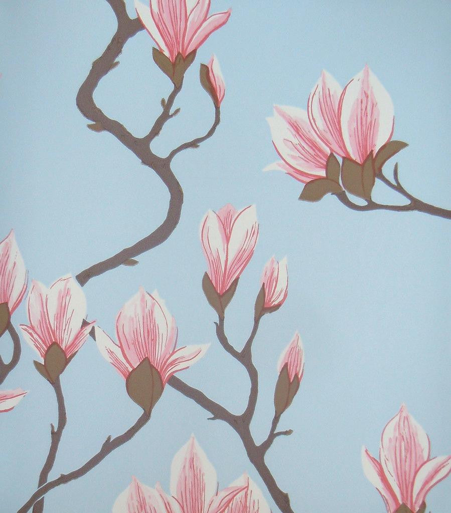 Cole & Son Magnolia Wallpaper 72/3011 from the Contemporary Collection