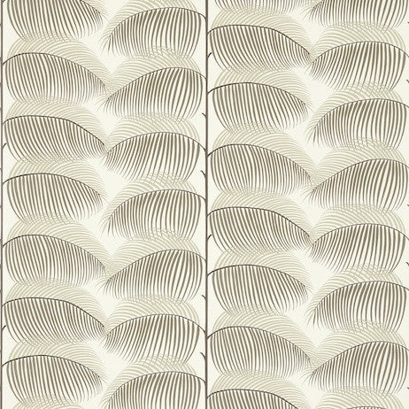 Sanderson Wallpaper | Manila Charcoal/Cream DVOY213368