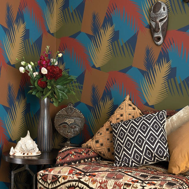 Deco Palm 105/8039 Wallpaper | Cole & Son | Geometric 2