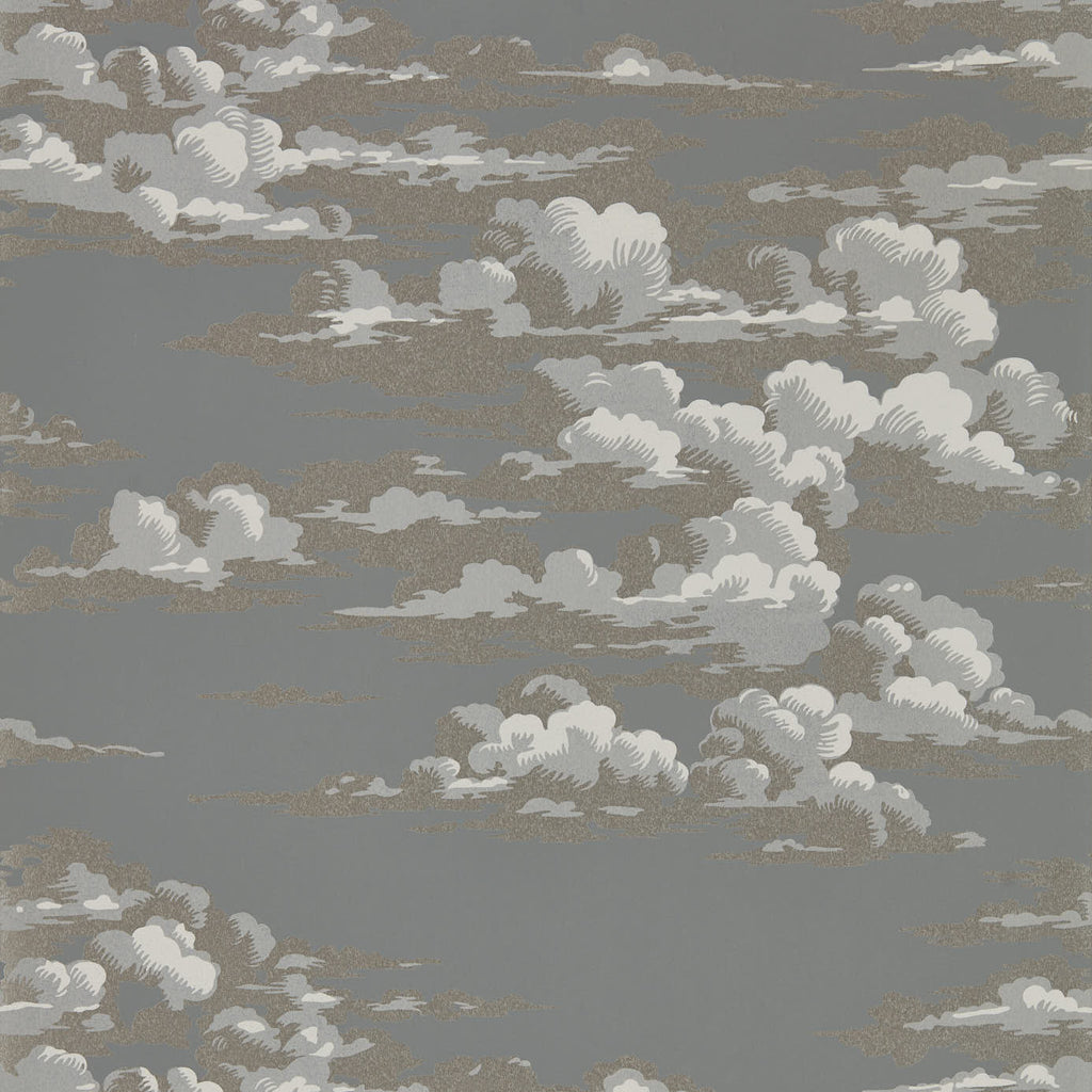 Silvi Clouds Wallpaper 216603 by Sanderson