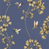 Harlequin Wallpaper Australia | Amazilia 111059 in Indigo Blue