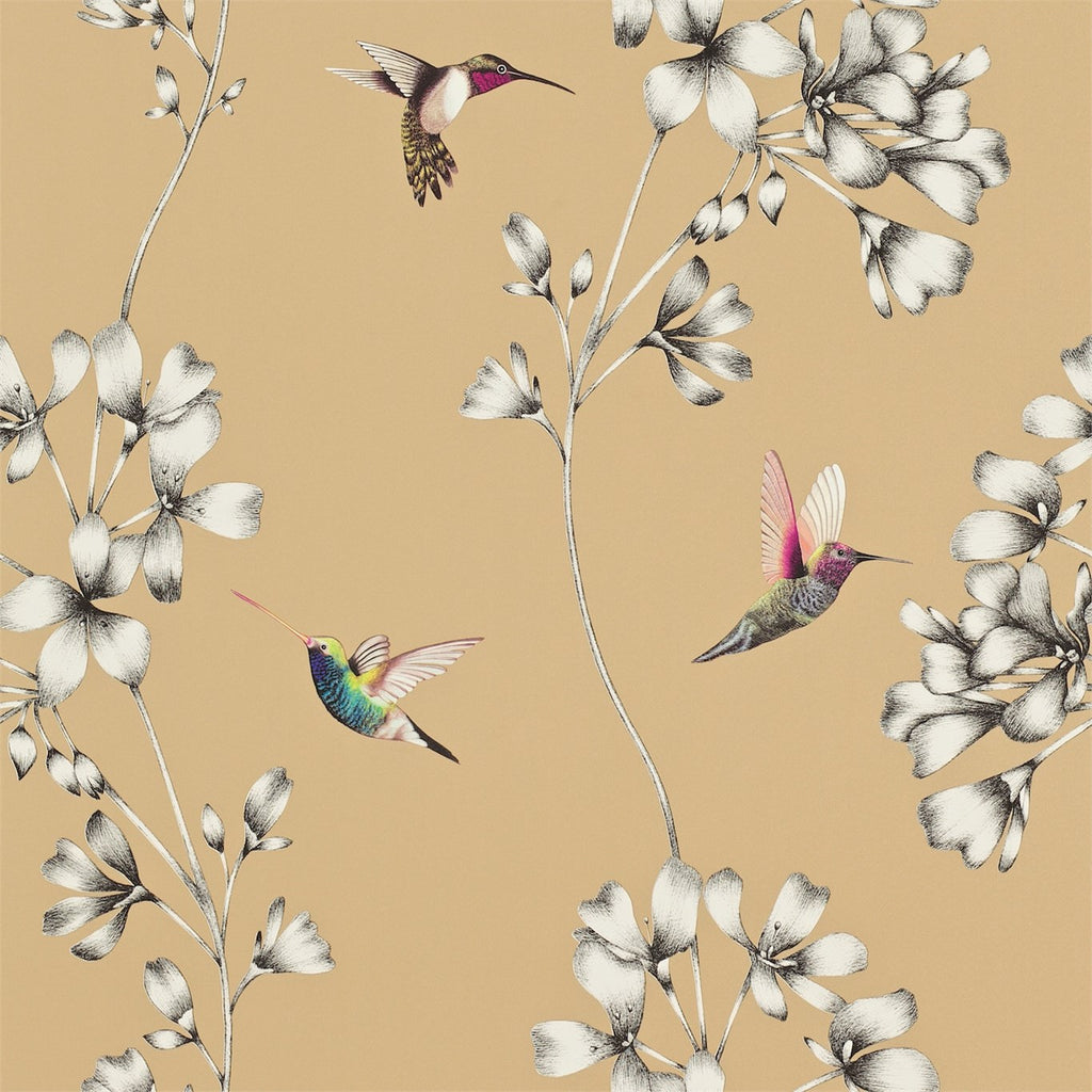 Harlequin Wallpaper Australia | Amazilia in Bronze