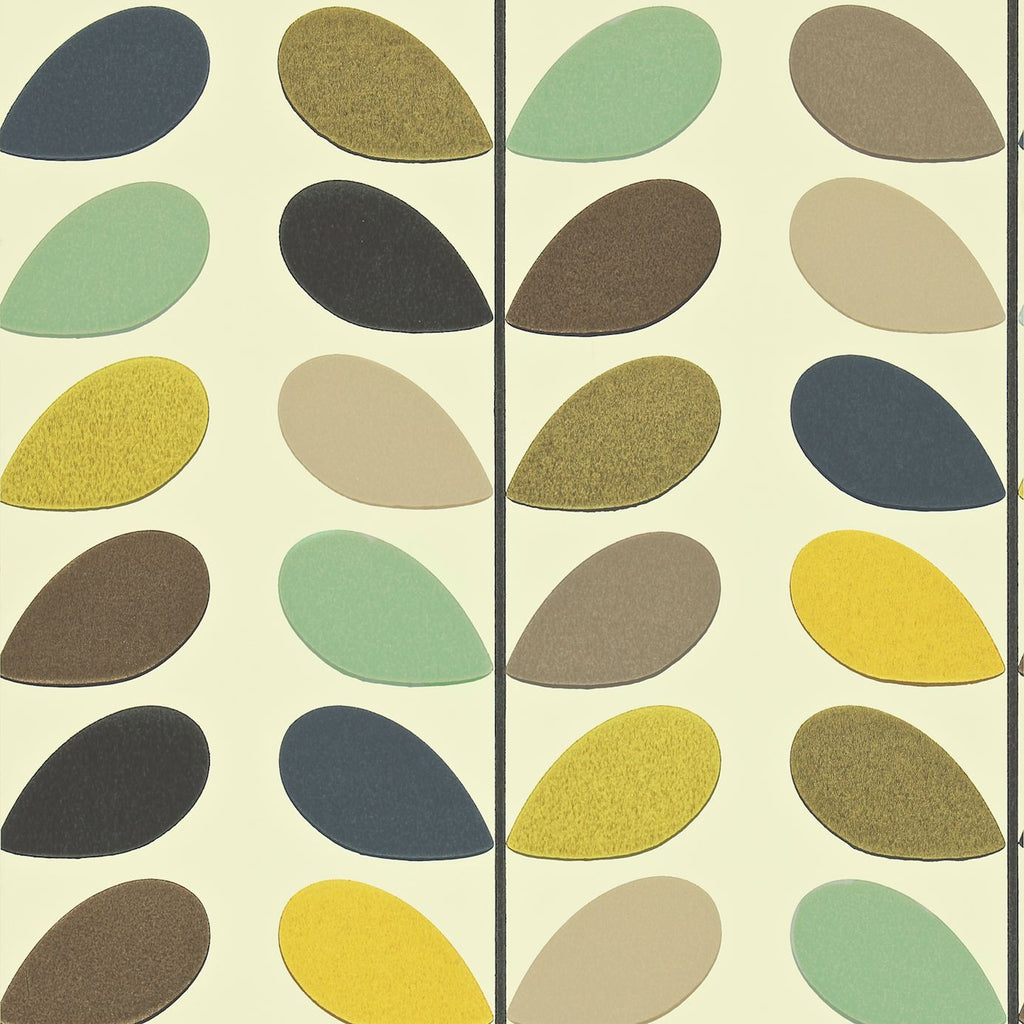 Orla Kiely Wallpaper- Multi Stem 110385