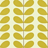 Orla Kiely Wallpaper Classic Stem 110388 in Olive & White